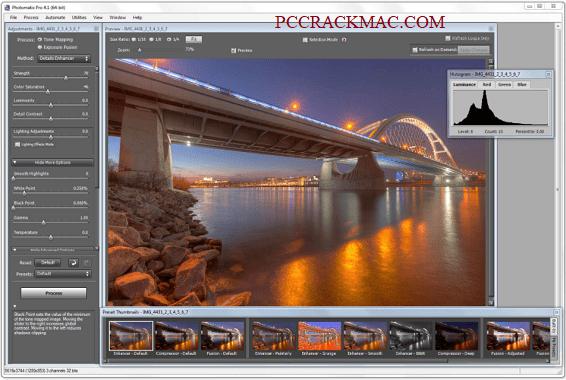 Photomatix Pro Screenshot
